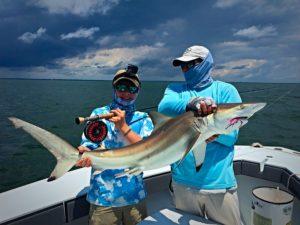 St Simons Island Fly Fishing sharks