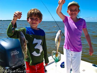 Kids fishing trips jekyll Island